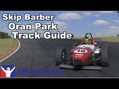 iRacing - Johnny Guindi Skip Barber Track Guide @ Oran Park