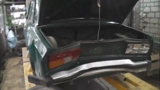 видео Замена заднего крыла ВАЗ 2107. Советы для легкого ремонта