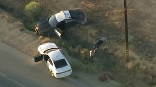 Driver Steals Chp Cruiser In Wild High Desert Pursuit