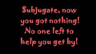 Motograter Suffocate Lyrics