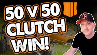 COD Ground War WIN! / Super Clutch 2 v 2 ending! Crazy Exciting Call of Duty 50v50 Game