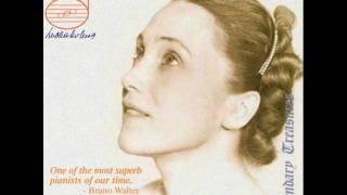 Lubka Kolessa plays  Schumann Toccata Op. 7