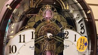 RHYTHM Harmony Blessing Clock - 4MH423WR23 (リズムスモールワールドアルディからくり時計) アルディ 検索動画 12