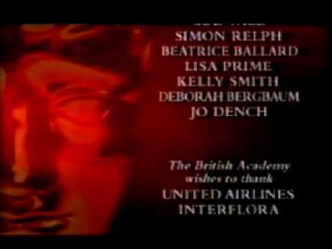 BAFTA TV Awards (closing titles) - Music by Tony Royden