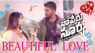 Beautiful Love Lyrical whatsapp status | Naa Peru Surya Naa Illu India Songs | Allu Arjun,