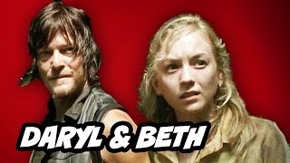 The Walking Dead Season 4 Episode 12 - Beth Greene and Daryl Dixon