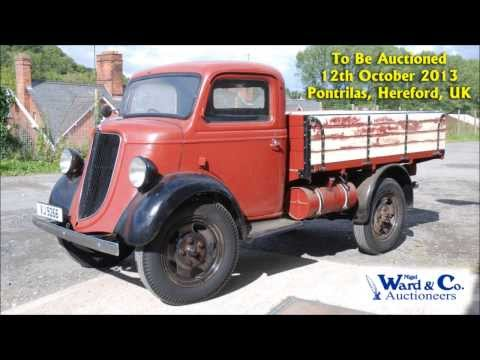 Rare 1936 Fordson model 61 (E88W) 25 cwt. Lorry / Truck