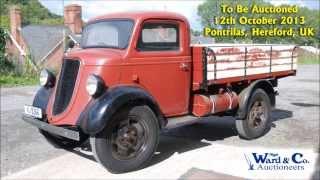Rare 1936 Fordson model 61 (E88W) 25 cwt. Lorry / Truck