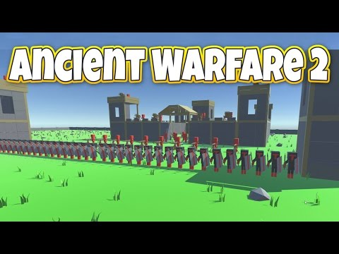 Deadly Castle Siege! - Let's Play Ancient Warfare 2 Gameplay