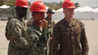 Philippine Marines and  U.S. Marines Develop Logistical Skills