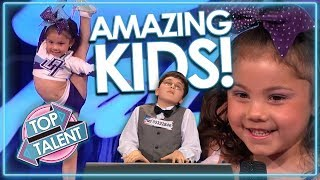 AMAZING KIDS Auditions From Around The World! INCLUDES Adrian Romoff & MORE!  Top Talent