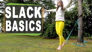 How to slackline for beginners