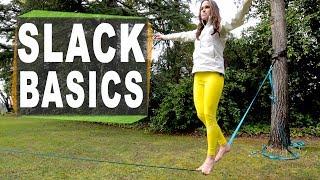How to slackline for beginners