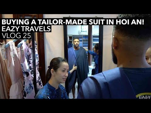 BUYING A TAILOR-MADE SUIT IN HOI AN!