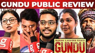 Gundu Movie Public Review | GK Cinemas | Pa Ranjith | Dinesh | Kayal Anandhi