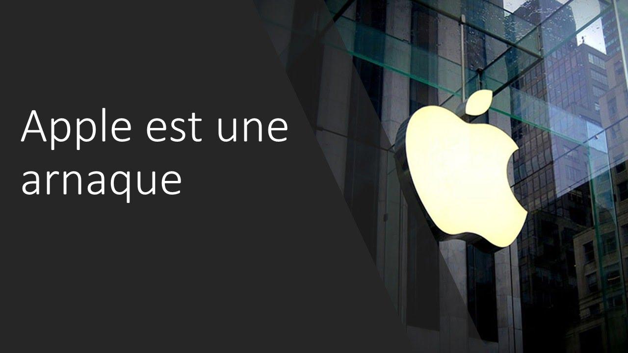 arnaque apple