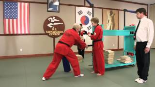 U.S. Open Taekwondo Hanmadang-Individual Power Breaking Skipping Side Kick (2012)