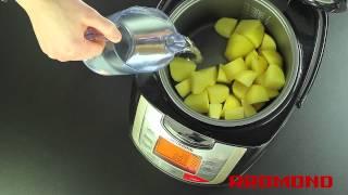 Диетический картофель в мультиварке REDMOND RMC-M4502