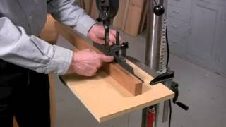 Drill Press Mortising
