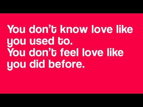 You don't know love [w/ Lyrics] - The Editors