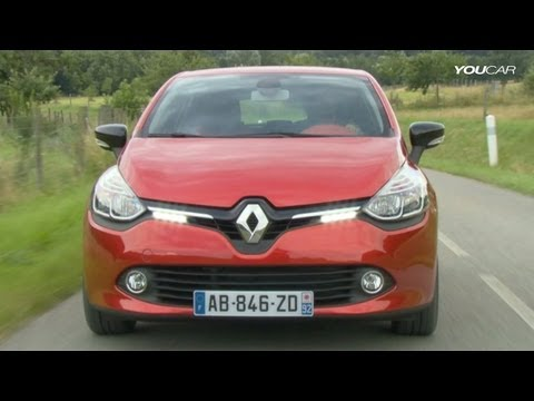? Renault Clio 4 on the Road