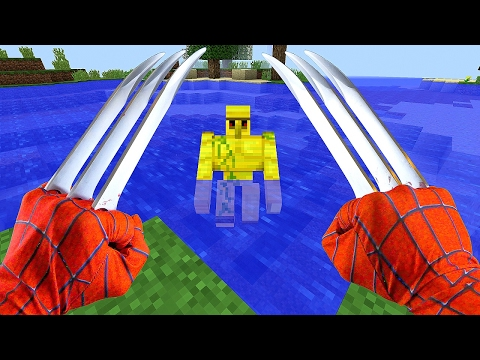Thumbnail: TOP 5 REALISTIC MINECRAFT *SUPER HEROS* of 2017