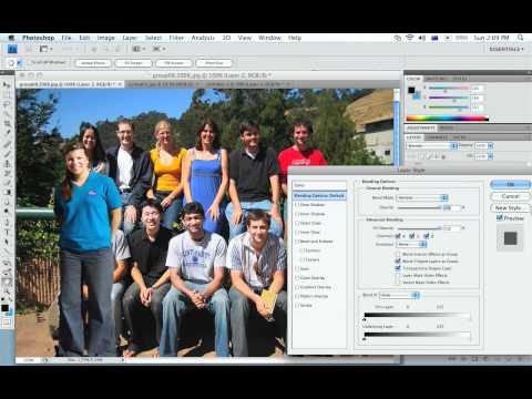 Photoshop cs5 video training 720p HD -  Group photo manipulation.f4v