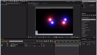 After Effects - police lights tutorial