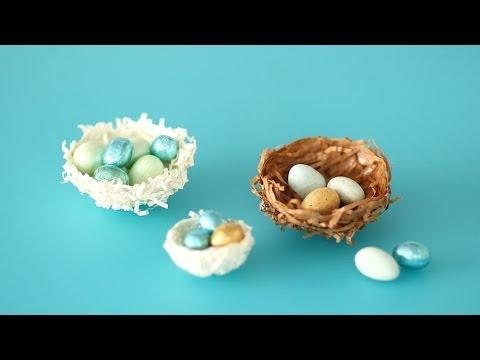 Shredded Paper Nests