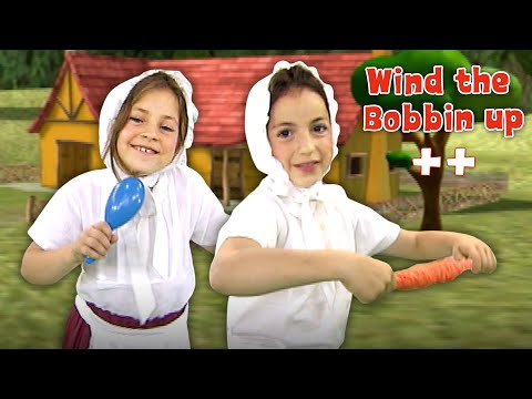 Wind The Bobbin Up & more | Nursery Rhymes & Kids Songs Compilation by Zouzounia TV