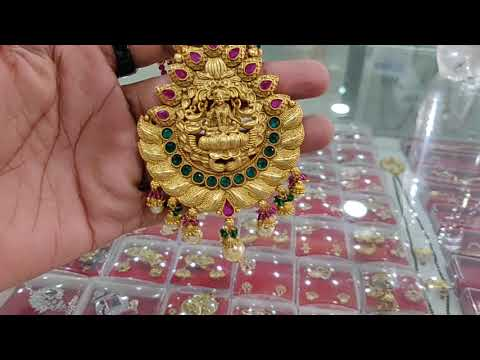 Matt Finished Temple Designe Necklece,The jewellary place, Whatsaap 7359294137, designer jewellery,