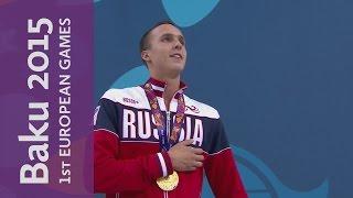 Anton Chupkov wins the Men