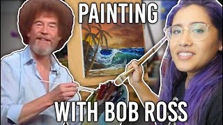 Watch Me Paint a Beach with Bob Ross!