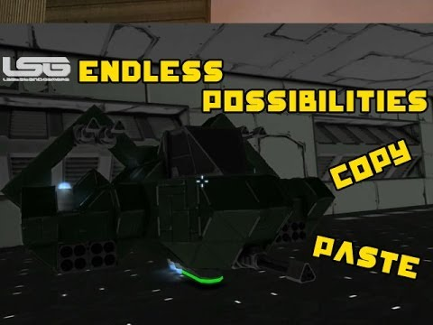 Space Engineers Copy And Paste Endless Possibilities Ship Part