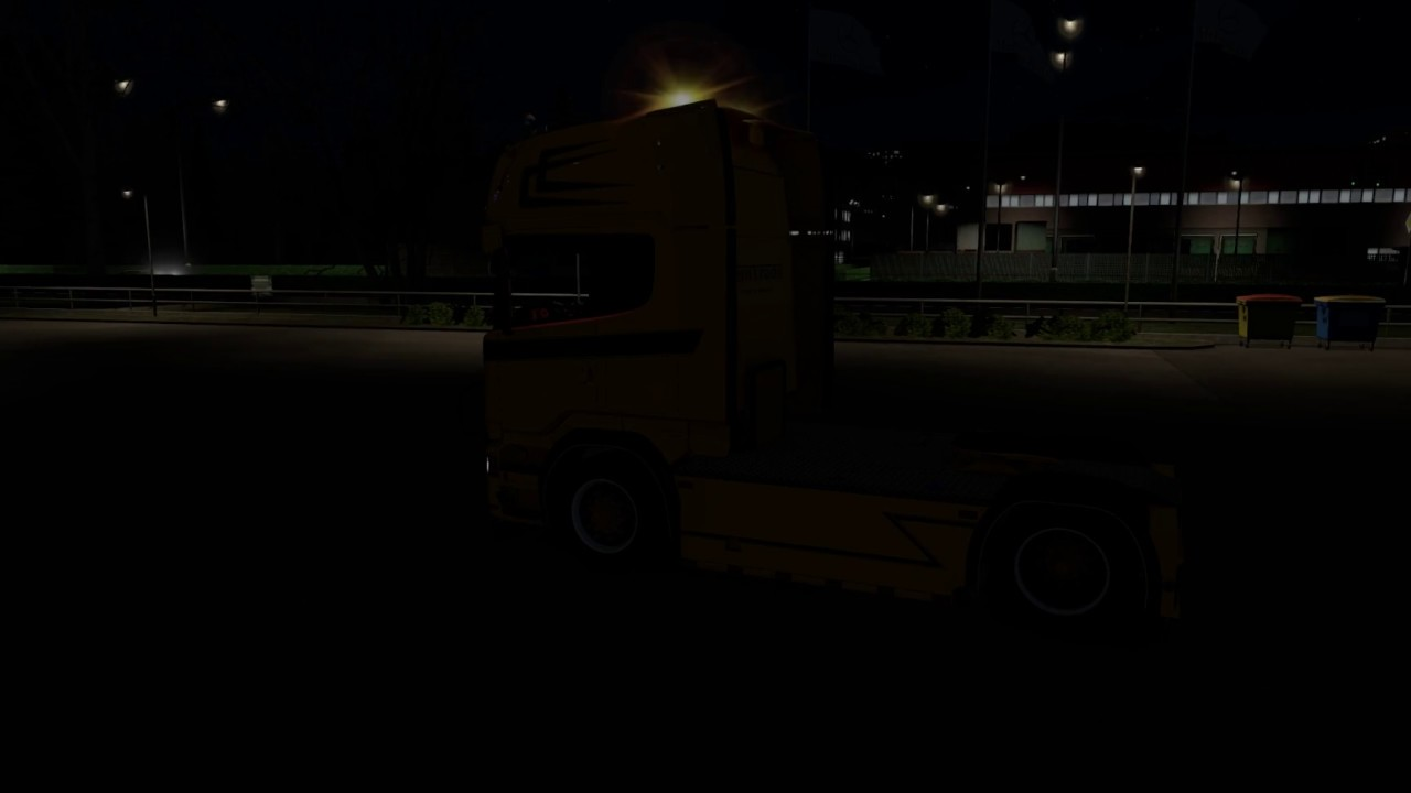 Ets2 126x scania strobe lights youtube ets2 126x scania strobe lights aloadofball Image collections