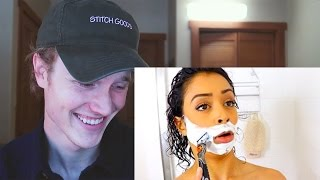Reacting to Liza Koshy's My First Time!! Naked Drunk Thoughts!