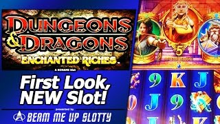 Dungeons and  Dragons Slot Bonus - First Look, New Konami Title, Free Spins
