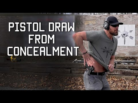 Best Draw From Concealment Techniques | Tactical Rifleman