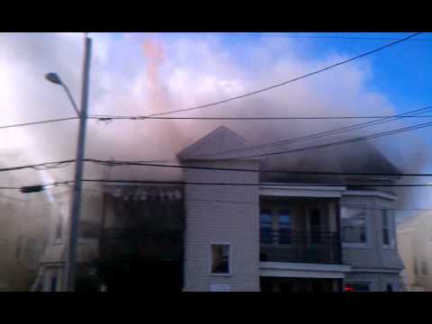 Tremont Street Fire Fall River, Ma.