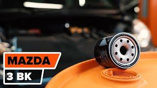 Cómo y cuándo cambiar Filtro de Aceite MAZDA 3 (BK): vídeo tutorial