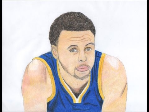 Drawing Stephen Curry - YouTube 7fe0e7951
