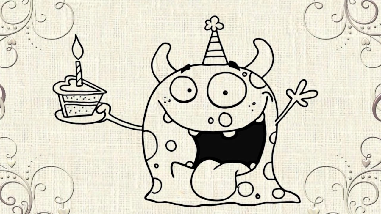 Disegno Compleanno: Happy Birthday Drawing