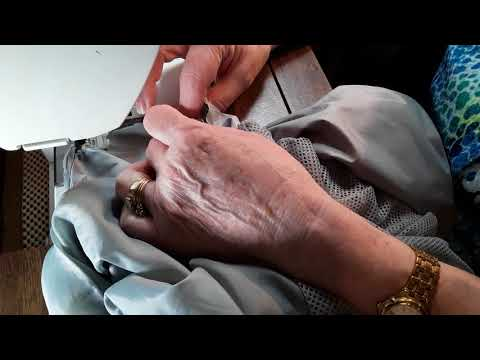 47 How to repair a lined jacket  sewing in the doll corner