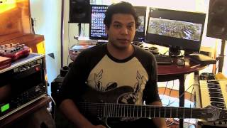 D'Addario: Misha Mansoor on EXL140-8 Nickel Wound Strings