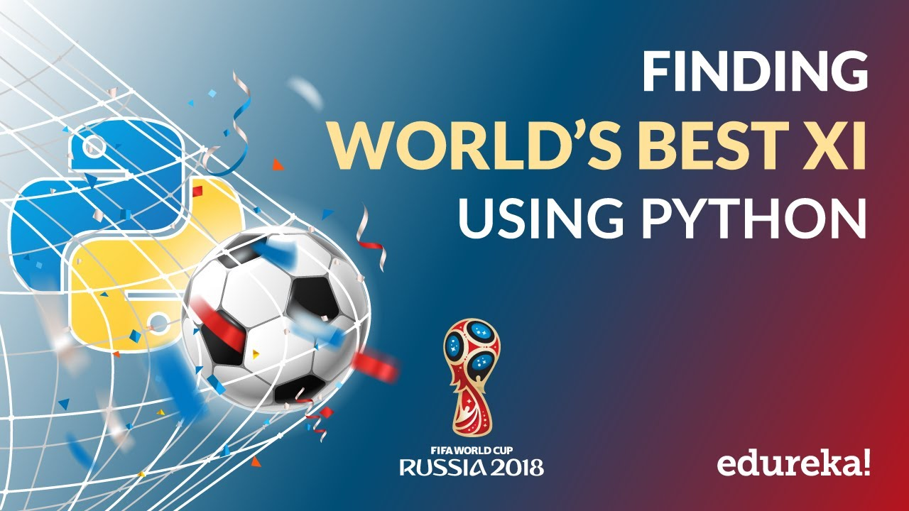 FIFA with Python | Finding FIFA Best XI Using Python | Python Training |  Edureka