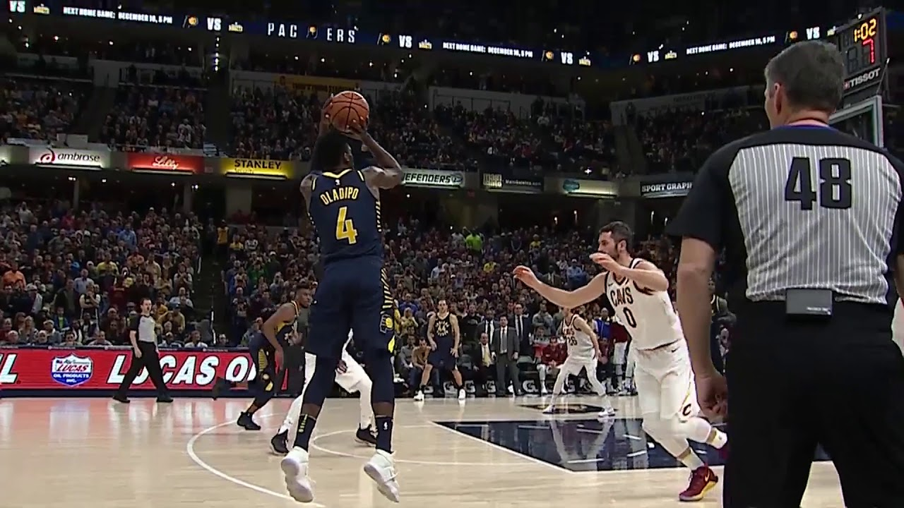 Oladipo returns, hits clutch 3 in Pacers' OT win