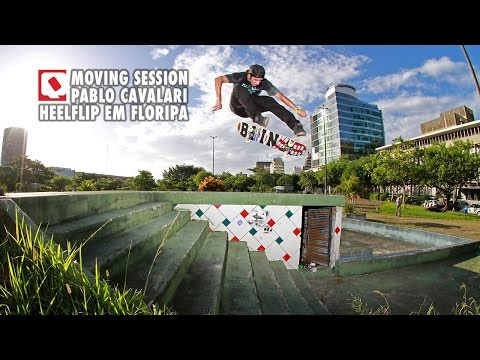 QIX Moving Session - Cavalari - Heelflip em Floripa