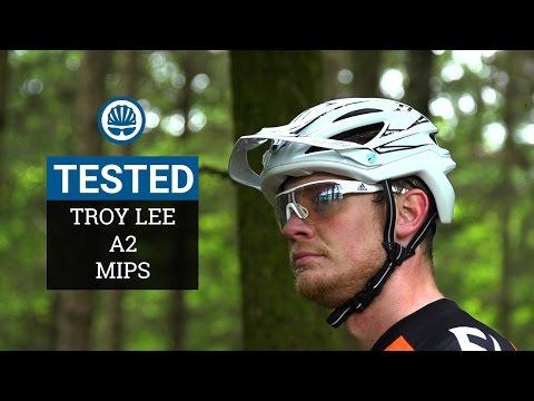 Troy Lee Designs 2018 Bike A1 MIPS Helmet Classic Black Adult All Sizes