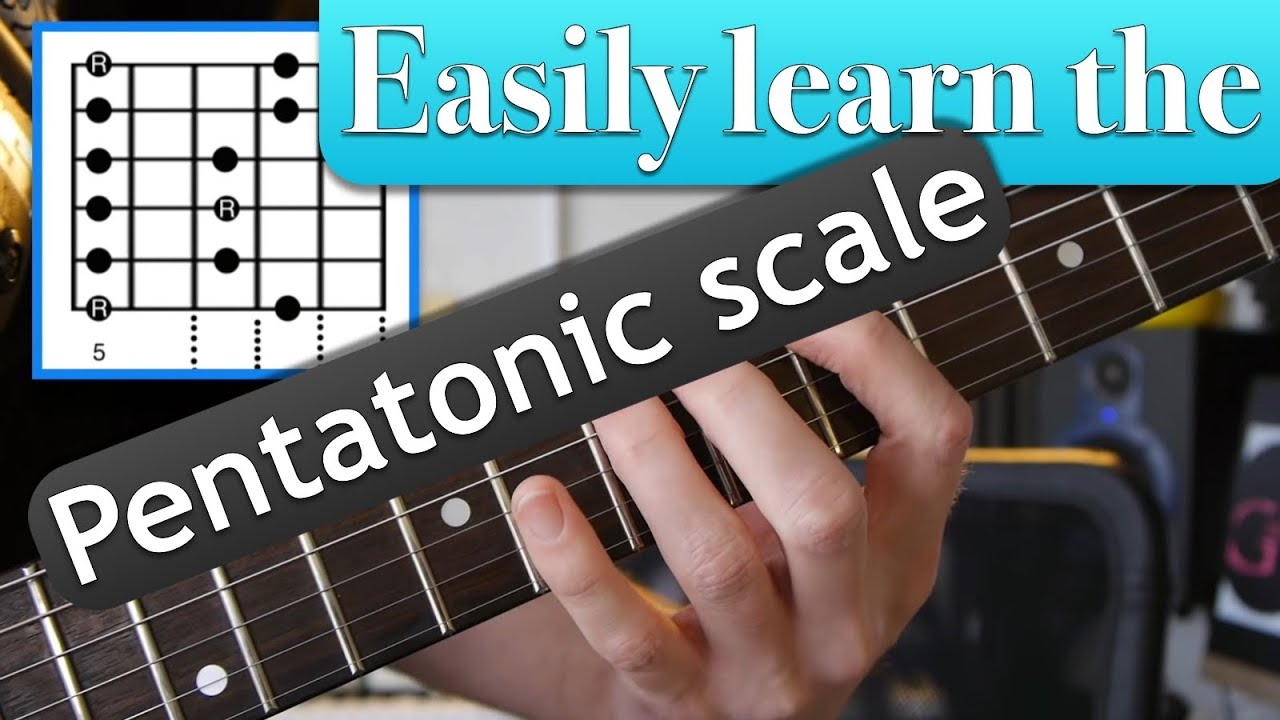 fastest way to nail the pentatonic scale shapes with loop