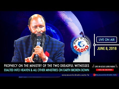 PROPHECY ON THE MINISTRY OF THE TWO WITNESSES EXALTED INTO HEAVEN & ALL OTHER MINISTRIES BROKEN DOWN